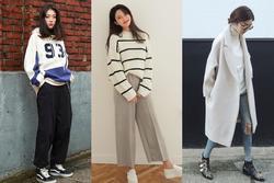 Phối đồ mùa đông với gam màu trung tính đẹp như gái Hàn