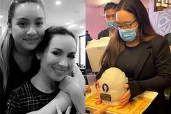 Con gái đưa tro cốt Phi Nhung về Việt Nam trước khi rải xuống biển