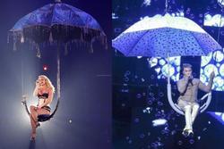Đàm Vĩnh Hưng 'đạo' Britney Spears ý tưởng đu ô trên sân khấu?