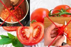 5 kiểu ăn cà chua 'cực hại', nhiều người mắc phải mà không biết