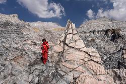 Vòm muối độc đáo dài 12 km ở Iran