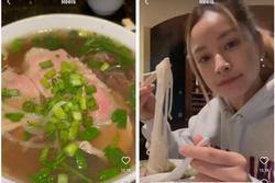 Chi Pu đi ăn phở Việt tại Mỹ mà không nói 1 câu tiếng Anh nào