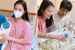 Cận nhan sắc vợ Phan Thành sau khi sinh quý tử đầu lòng