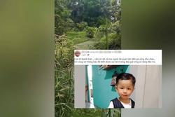 NÓNG: Tìm thấy xác bé trai mất tích ở Bình Dương