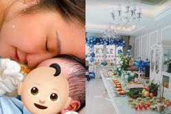 Tiệc đầy tháng chuẩn rich kid con trai Phan Thành - Primmy Trương