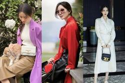 Mãn nhãn với style mùa thu lãng mạn của Lưu Thi Thi