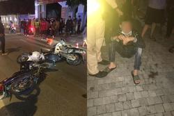 Gây tai nạn cho bà bầu, thanh niên bị CSGT dí đầu bắt quỳ