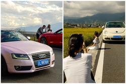 Trào lưu thuê xe sang sống ảo khi đi du lịch ở Trung Quốc