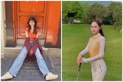 Hương Giang 'sủng ái' quần jeans rộng và 1001 công thức mix&match