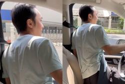 Cường Đô La tay lái siêu xe nhưng đầu thò ra tắm nắng
