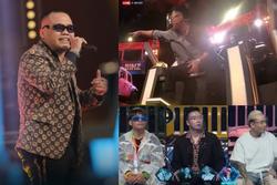 'Rap Việt' tập 2: Chưa cất giọng, 'quái vật' Blacka đã được Rhymastic đạp cần chọn