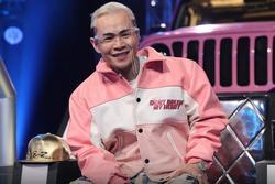 Binz phũ phàng không tìm kiếm nhạc tình yêu tại Rap Việt mùa 2