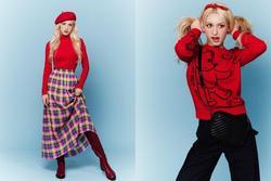 Jeon Somi diện đồ mùa đông đẹp tựa 'búp bê Barbie'