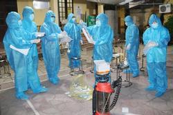 Hà Nội phát hiện 6 ca SARS-CoV-2 mới ngoài cộng đồng
