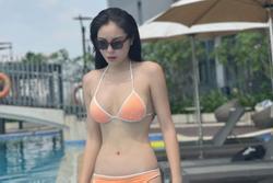 Hoa hậu Kỳ Duyên tung ảnh diện bikini, khoe vòng eo con kiến