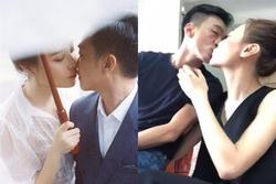 BST nụ hôn của vợ chồng Cường Đô La, xem mà 'ngại quá đi'