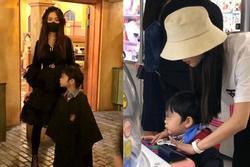 Con trai Huỳnh Hiểu Minh - Angela Baby giống bố như lột