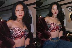 Sẽ thế nào nếu Jisoo mặc đồ của Chi Pu?