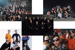 Loạt nhóm rap tranh tài cực gắt tại Rap Việt