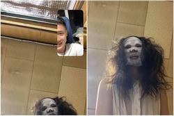 Nửa đêm video call cho vợ, chồng 'dựng tóc gáy' vì hốt
