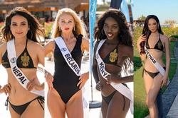 Loạt thí sinh diện bikini '3 vòng như 1', Ái Nhi ăn đứt ở Miss Intercontinental