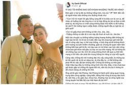 Vy Oanh đáp trả bà Phương Hằng, hé lộ profile 'khủng' ông xã