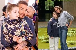 'Công chúa' Harper lớn phổng phao bên Victoria Beckham