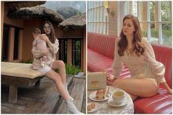 'Dâu nhà giàu' Phanh Lee lên 20kg rồi lại nuột nà khó tin