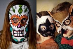 Cách tự làm mặt nạ Halloween cực đơn giản lại siêu đẹp