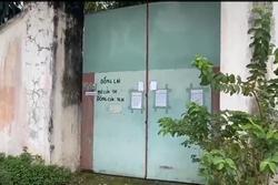 Cận cảnh 'Tịnh thất Bồng Lai' cửa đóng then cài sau scandal